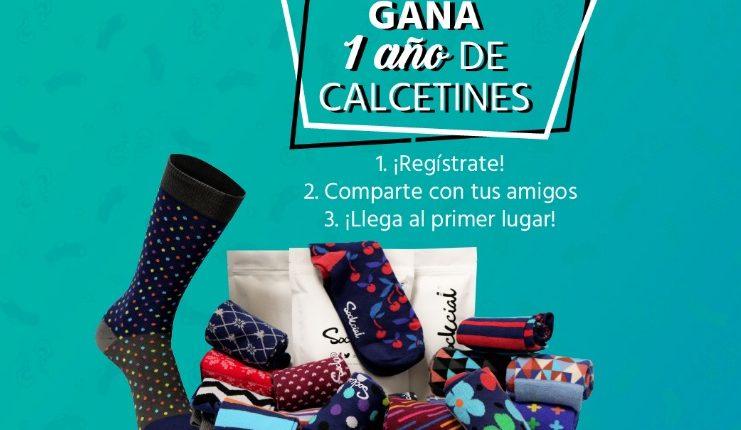 Concurso Sockcial: Gana 1 año de calcetines Gratis