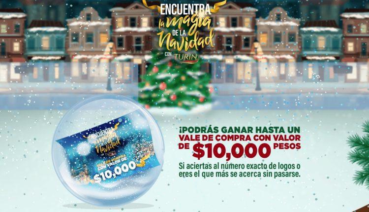 Promoción Turin Encuentra la Magia de la Navidad: Gana vales de $10,000, batidoras KitchenAid y más en encuentralamagia.com.mx