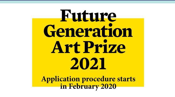 Future Generation Art Prize 2020: Gana premio de $100,000 dólares