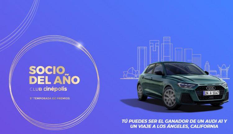 Promoción Socio del Año Club Cinépolis: Gana un Audi A1 y viaje a Los Ángeles