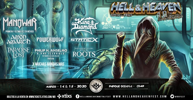 Concurso Hell & Heaven Metal Fest 2020: Gana un lifetime pass, $2,000 en monedero y mercancía oficial