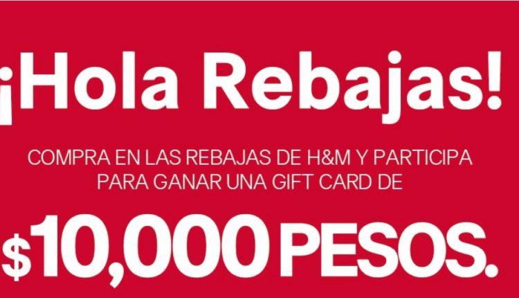 Concurso H&M Hola Rebajas 2020: Gana gift card de $10,000 pesos