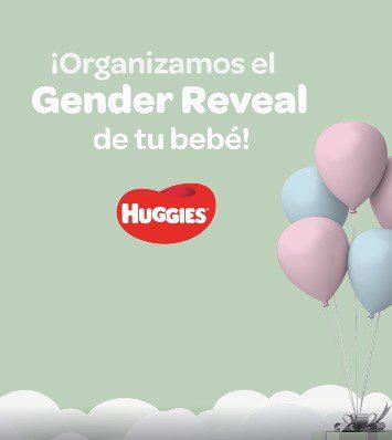 Concurso Huggies: Gana un evento de Gender Reveal de tu bebé