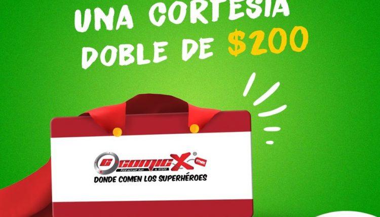 Gana 1 de 10 cortesías dobles de $200 para Comicx Paseo Durango