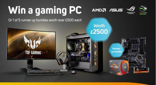 Giveaway Scan: Gana una computadora gamer con valor de más de $60,000