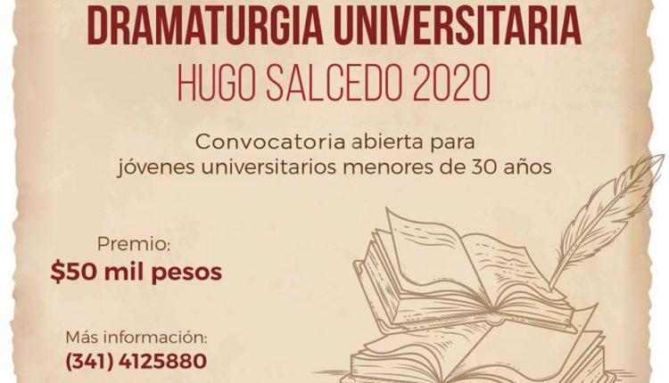 Premio Nacional de Dramaturgia Universitaria 2020 UdeG: Gana $50,000 en efectivo