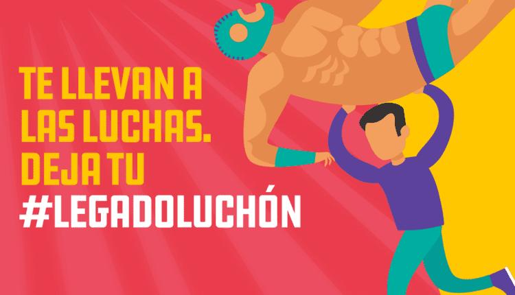 Concurso Unefon Legado Luchón: Gana boletos para funciones de Lucha Libre AAA