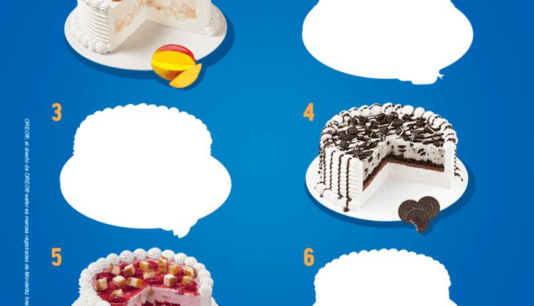 Concurso Dairy Queen: Gana un pastel Blizzard