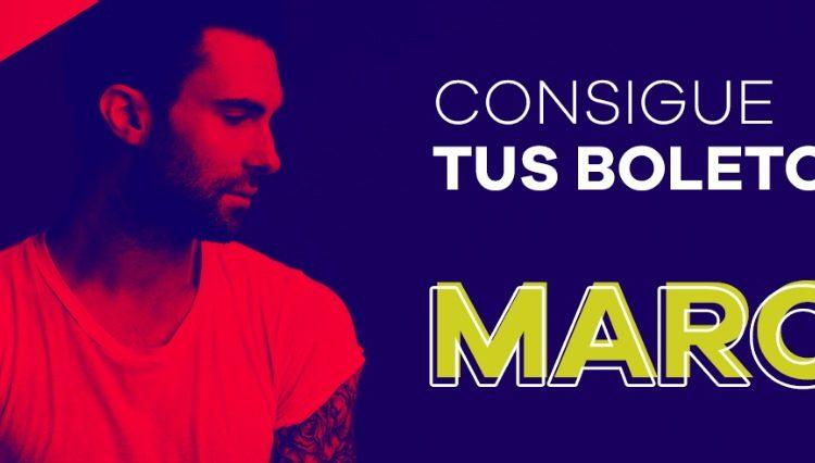 Concurso Los 40: Gana boletos Gratis para el concierto de Maroon 5 en la CDMX