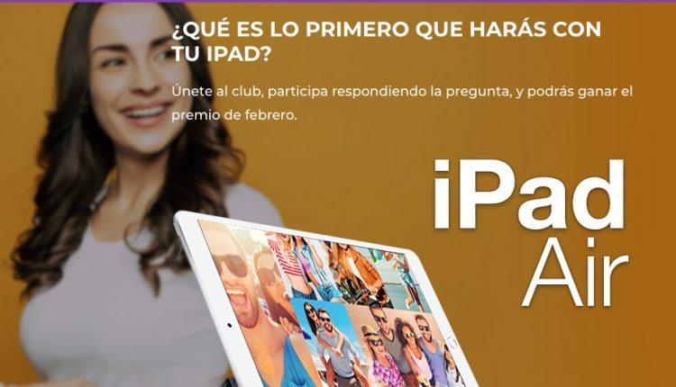 Concurso Club Más Chic: Gana un iPad Air