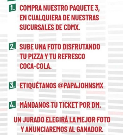 Boletos Gratis para los Backstreet Boys en México cortesía de Papa Johns