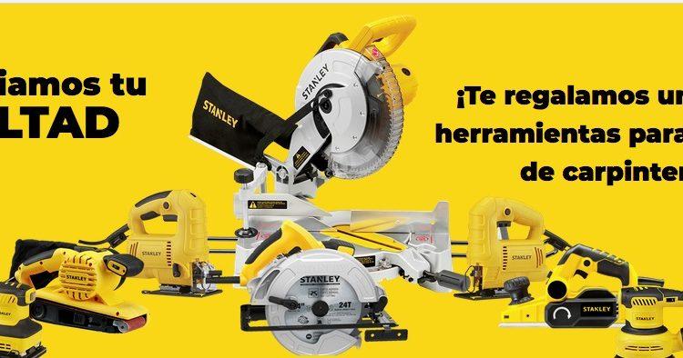 Concurso Stanley: Gana un kit de herramientas de carpintería