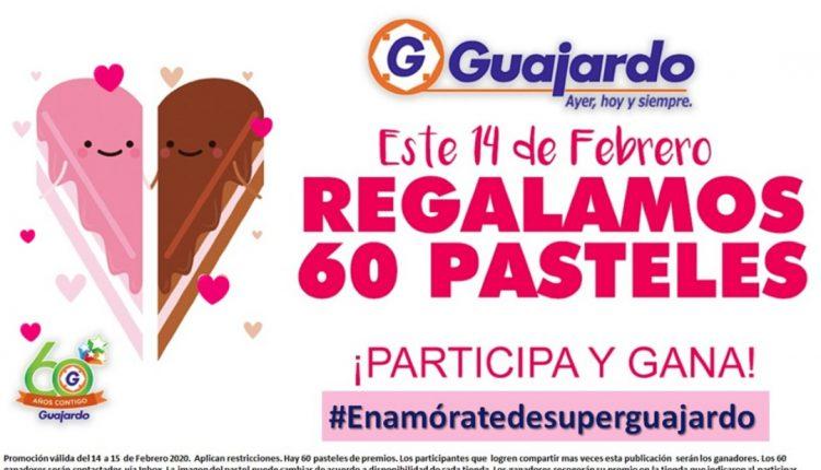 Gana uno de los 60 pasteles de San Valentín cortesía de Super Guajardo