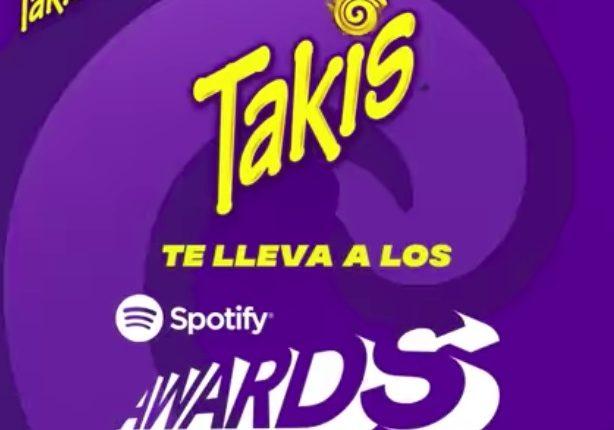 Gana boletos para los Spotify Awards 2020 cortesía de Takis