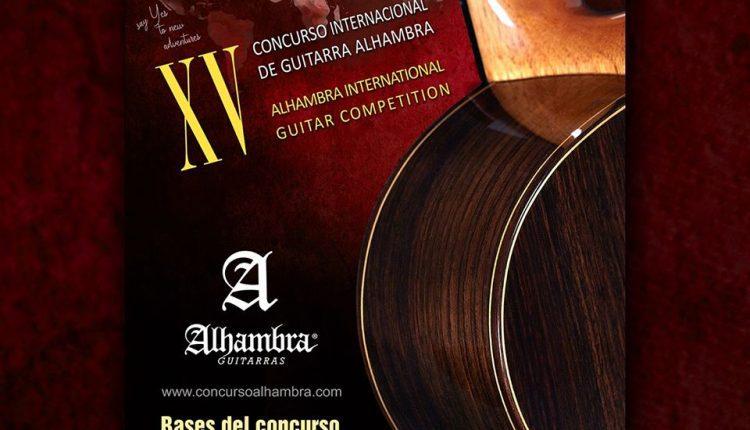 XV Concurso Internacional de Guitarra Alhambra: Gana $14,000 euros y más