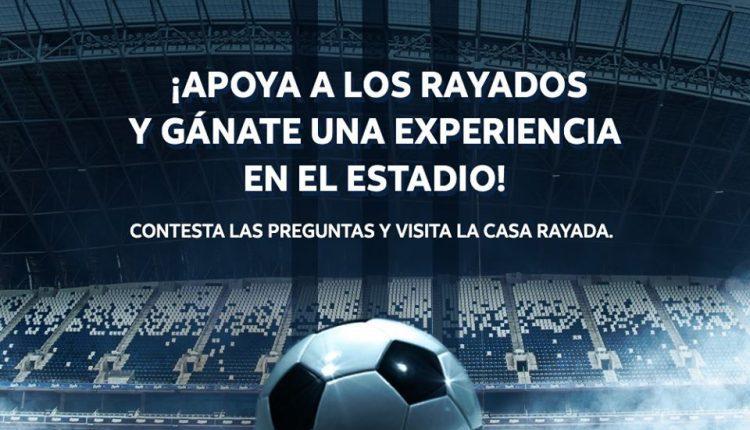 Gana boletos para el partido Rayados de Monterrey vs San Luis con AT&T