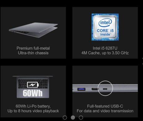 Giveaway CHUWI: Gana 1 de 2 laptops AeroBook Pro 15.6