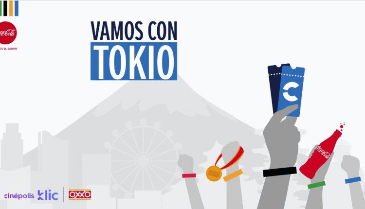 Promoción Coca-Cola Oxxo Vamos con Tokio: Gana viajes a los Juegos Olímpicos y más en vamos-contokio.com
