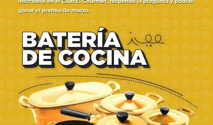 Concurso Club El Gourmet: Gana una batería de cocina de 5 piezas