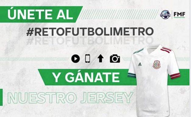 Reto Futbolimetro Selección Mexicana de Futbol: Gana 1 de 10 jerseys de la Selección Mexicana