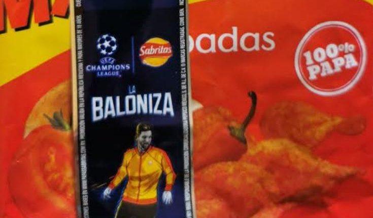 Promoción La Baloniza Sabritas: Registra tu código en /papassabritas y gana viajes a la final de la Champions 2020