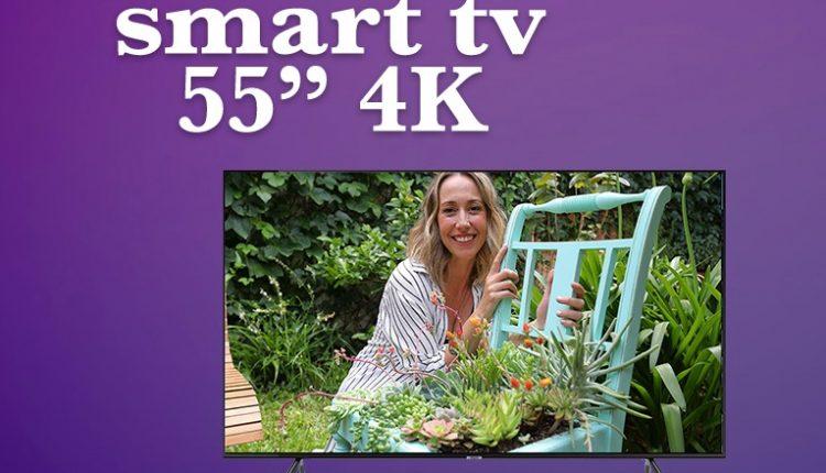 Concurso Club Más Chic: Gana una pantalla Smart TV 4K de 55″