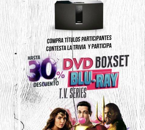 Concurso Mixup Cinecolor Warner: Gana 1 de las 6 bocinas Bose Soundtouch 30III – Black