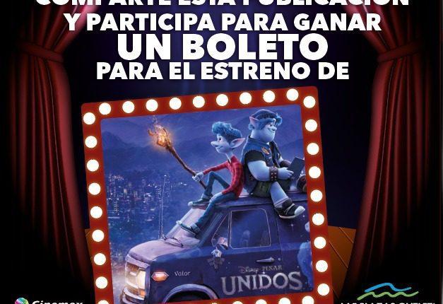 Gana boletos para el estreno de Unidos en Las Plazas Outlet Lerma