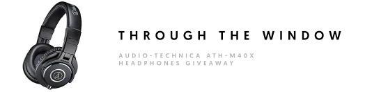 Giveaway Rotaris: Gana unos audífonos Audio-Technica ATH-M40x