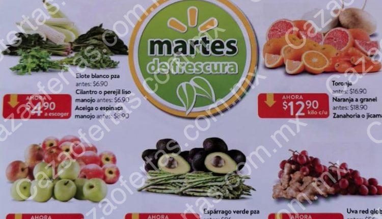 Walmart Martes de Frescura 10 de marzo de 2020