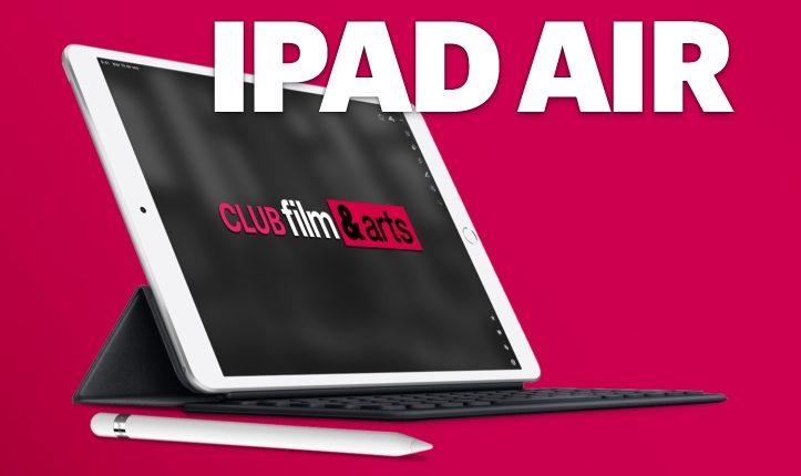 Concurso Club Film & Arts: Gana un iPad Air