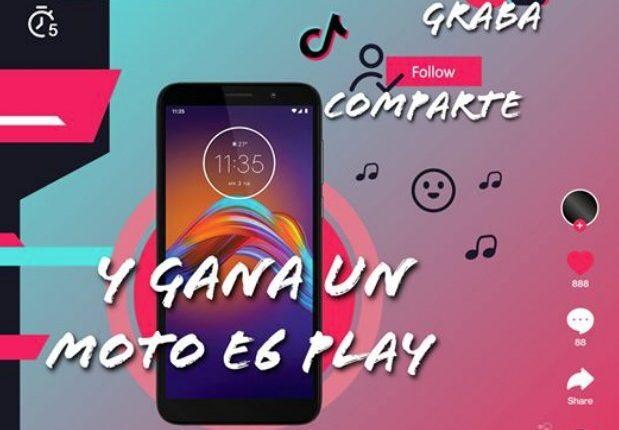 Reto TikTok La Marina: Gana un celular E6 play de Motorola