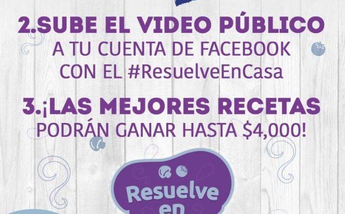Concurso Marinela Resuelve en Casa durante la pandemia: Gana premios de $80 y $4,000 pesos