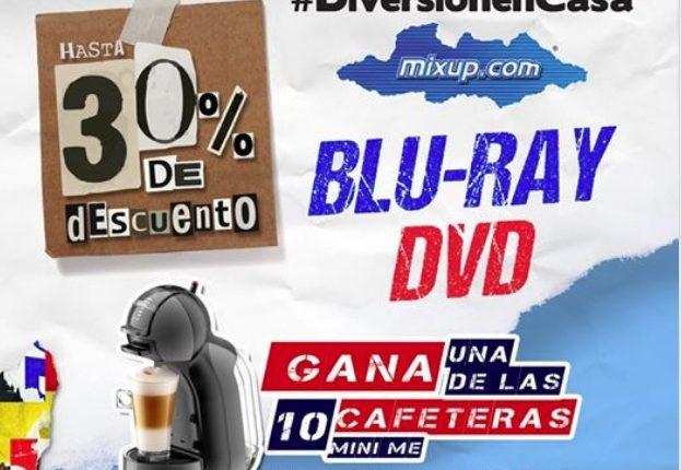 Concurso Mixup #DiversiónEnCasa: Gana 1 de 10 cafeteras Mini Me