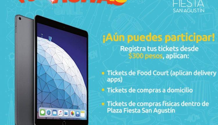 Gana un iPad Air en el concurso Plaza Fiesta San Agustín Premia tus Visitas