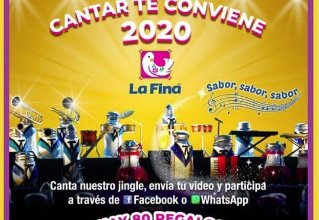 Promoción Sal La Fina Cantar te Conviene 2020: Gana 1 de 330 premios de $500 pesos en efectivo