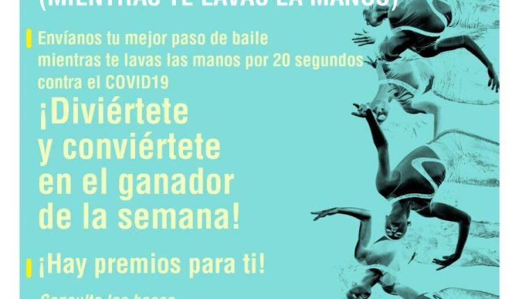 Concurso Danza UNAM Haz tu mejor paso de baile mientras te lavas las manos: Gana beca, bonos para danza UNAM y más
