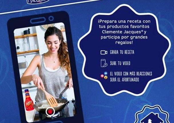Concurso Chef Clemente en Casa: Gana una despensa con valor de $1,500