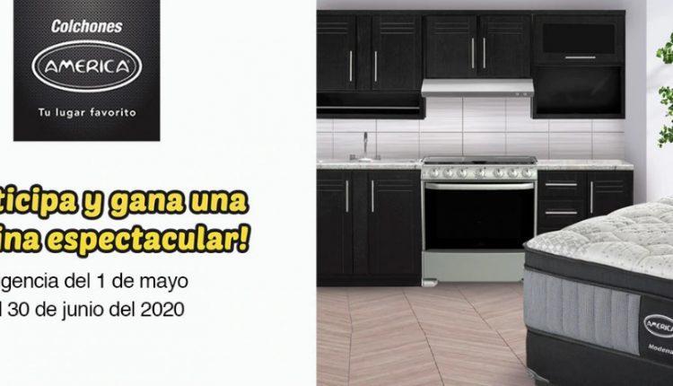 Promoción Coppel Colchones América 2020: Gana una de las 40 cocinas