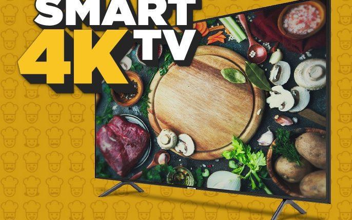 Concurso El Gourmet: Gana una pantalla Smart TV 4K