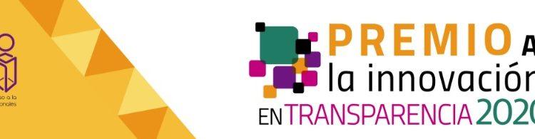 Concurso INAI Premio a la Innovación en Transparencia 2020: Gana de $50,000 a $100,000 pesos