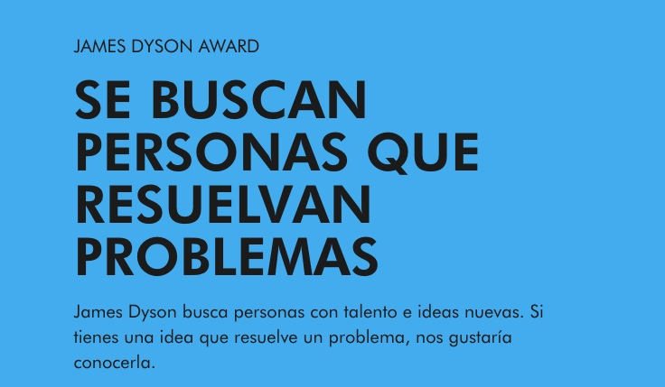 Concurso Premio James Dyson 2020: Gana de $48,000 a $720,000 pesos