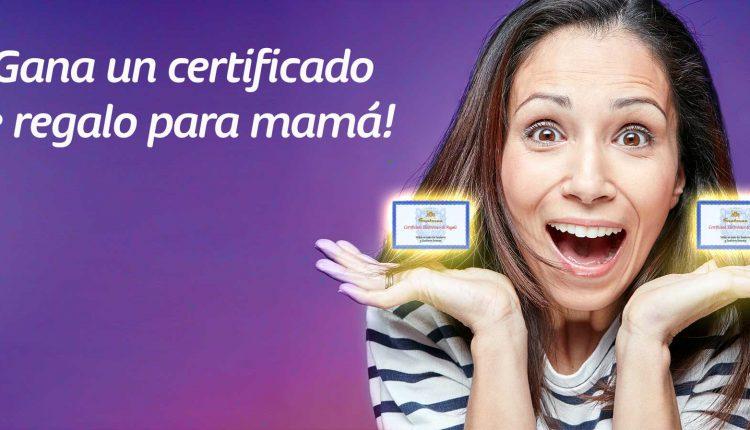 Concurso Telcel Día de las Madres: Gana 1 de 2 certificados de regalo Sanborns para mamá