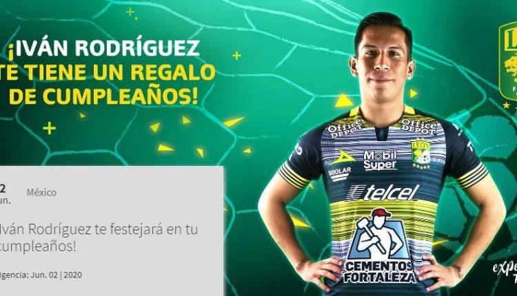 Gana un jersey del León y una video felicitación de Iván Rodríguez en el concurso de experiencias Telcel