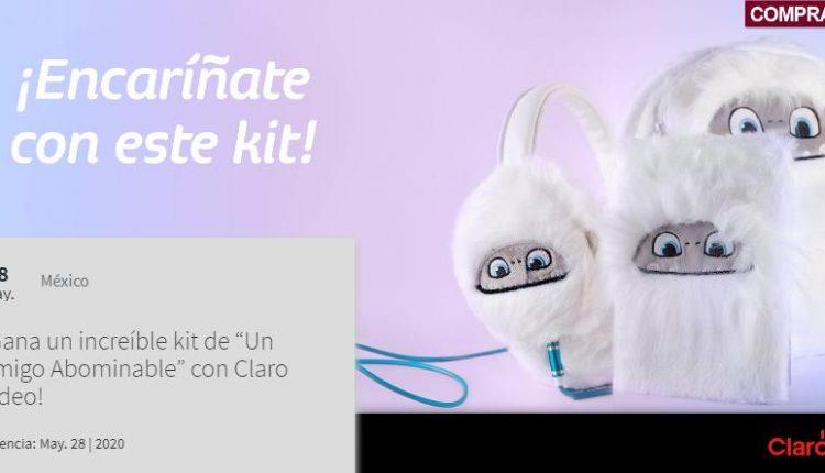 Concurso Claro Video y Telcel: Gana un kit de Un Amigo Abominable