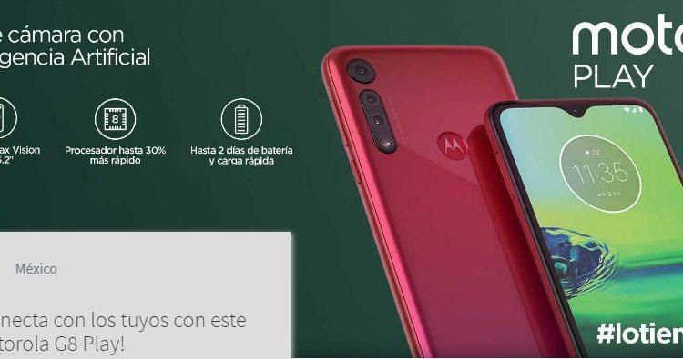 Concurso Telcel: Gana un celular Motorola G8 Play