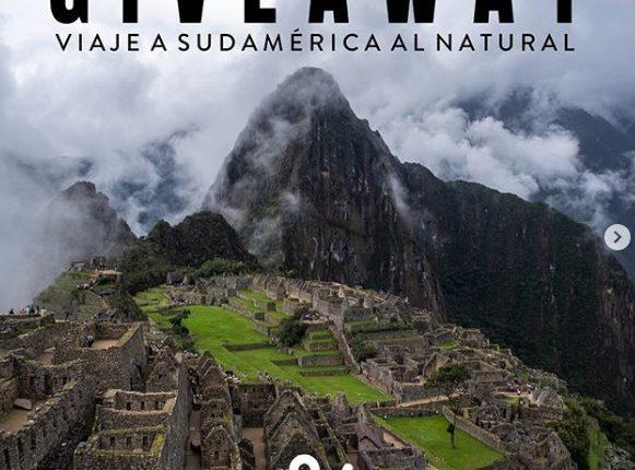 Giveaway Ve de Vuelo: Gana viaje a Sudamérica con valor de $30,000 pesos