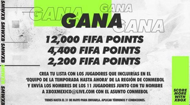 Concurso Xbox México: Gana premios de hasta 12,000 FIFA points para el FIFA 2020