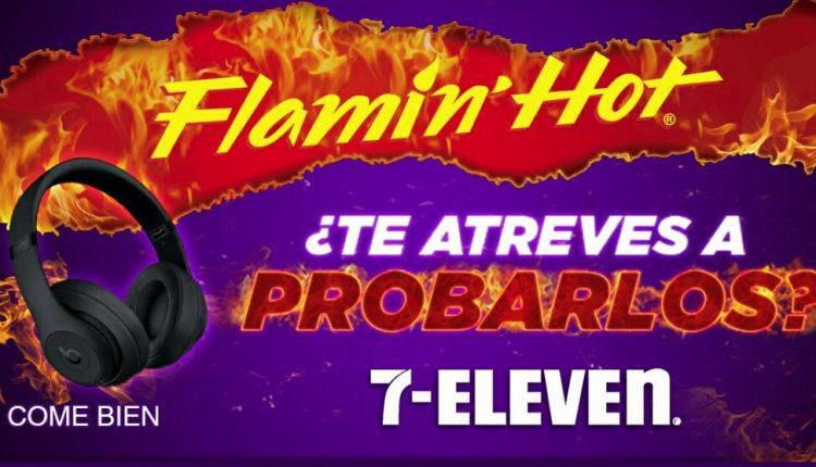 Promoción 7-Eleven Flamin Hot: Gana unos audífonos Beats Studio 3