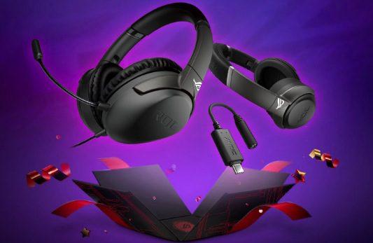 Giveaway Asus ROG: Gana audífonos ROG Strix GO y más